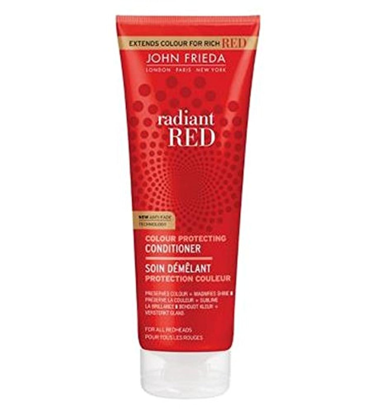 自然アイドル魅惑的なJohn Frieda Radiant Red Colour Magnifying Conditioner 250ml - ジョン?フリーダ放射赤色拡大コンディショナー250Ml (John Frieda) [並行輸入品]