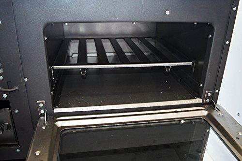 Estufa de leña con horno de alta eficiencia, fabricada en la UE, 9 kW