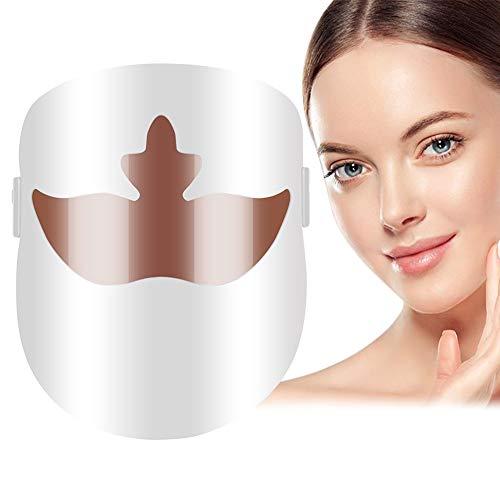 LED Maske, Lichttherapie Maske, LED Gesichtsmaske, AkneLichttherapieMaske, AntiAkneMaske, Phototherapiemaske zur Behandlung von Akne, Flecken, Mitesser, Acne, Hautunreinheiten