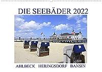 Die Seebaeder 2022 (Wandkalender 2022 DIN A2 quer): Impressionen der Kaiserbaeder: Ahlbeck, Heringsdorf, Bansin (Monatskalender, 14 Seiten )
