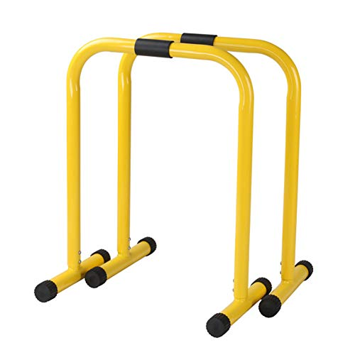 Parallel Bar Multifunctional Fitness Station Adjustable Dip Bar Station for Home Exercise Builds Core Strength, Balance and Triceps, Arm and Shoulder Muscles-2 Shots