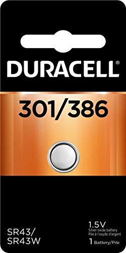 DURACELL D301/386B Watch/Calculator Battery