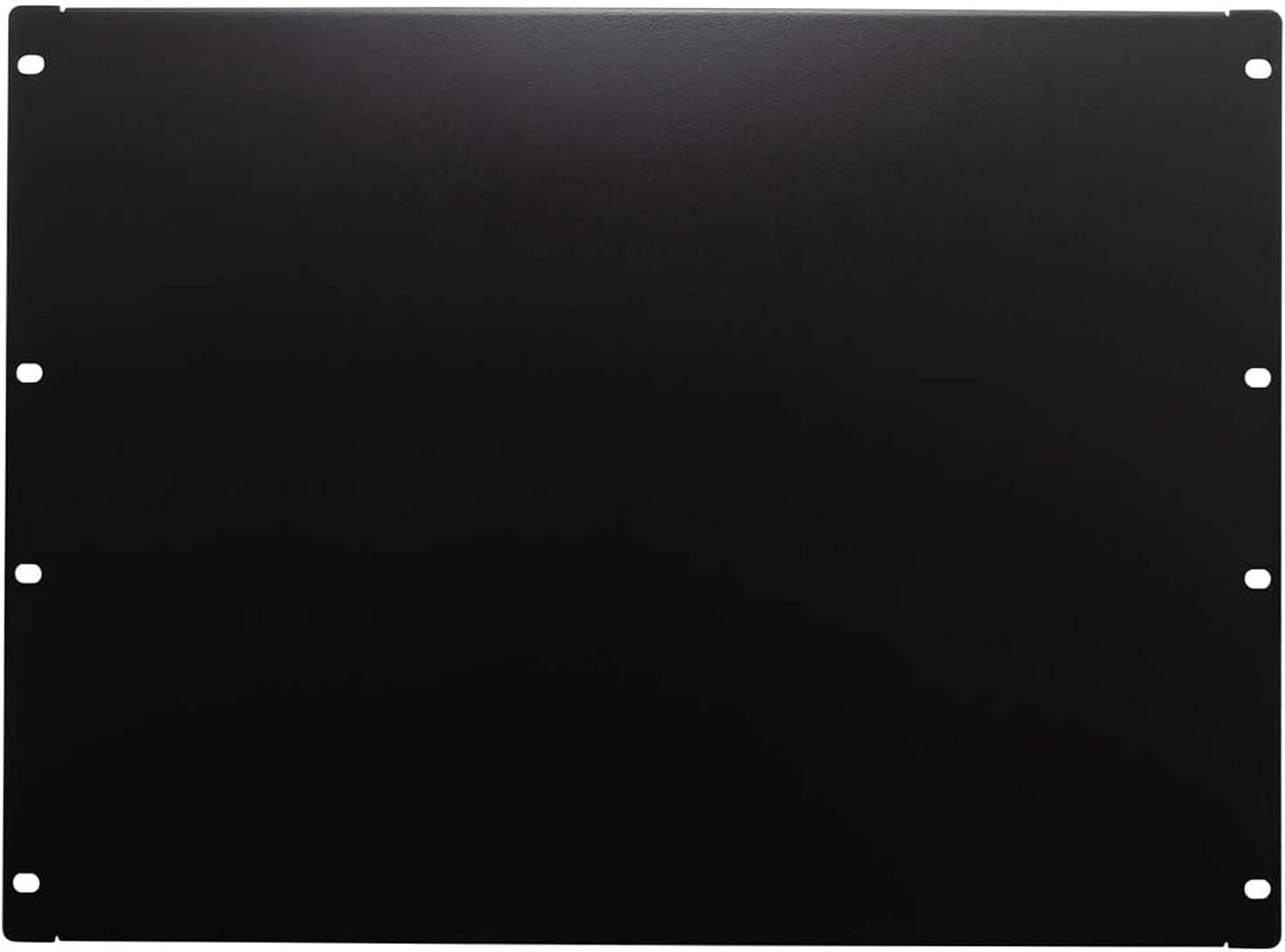 8U Black Mount Blanking Panel Spacer,19
