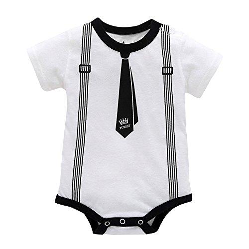 Luoluoluo rompertje baby jongens 6-24 maanden eendelige eendelige vorm gentleman babykleding pasgeboren body wikkelbody overall babyparty jongen kostuum pak smoking