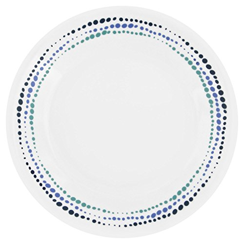 Corelle Livingware Ocean Blues 6.75' Bread & Butter Plate (Set of 8)