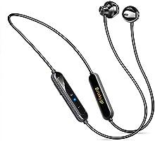 无线耳机 2021年版 Bluetooth 5.1 蓝牙耳机 支持18小时连续播放 运动用 高音质 搭载磁铁 SBC&AAC 带麦克风 免提通话 IPX6完全防水 搭载CVC8.0降噪功能 自动配对 蓝牙 耳机 Siri 带耳机挂钩...