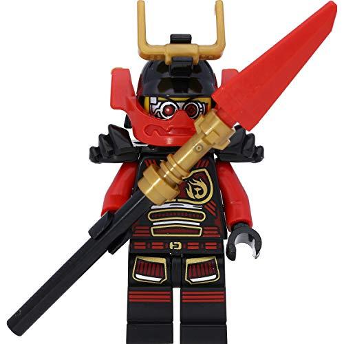 LEGO Ninjago Minifigur: Samurai X (NYA) im schwarzen Outfit mit Waffen