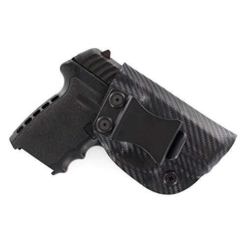 Outlaw Holsters Black Carbon Fiber Kydex Concealment IWB...