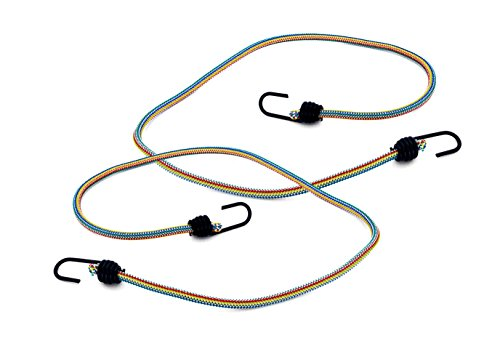 Max-Power DY270622M spanband/sjorband, voor bagage enz, met metalen haken, 150 cm lengte, 2 stuks