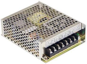 MEAN WELL RS-75-24 76.8W Metálico unidad de - Fuente de alimentación (76,8 W, 88-264, 47-63, Activo, 16 ms, 88,5%)