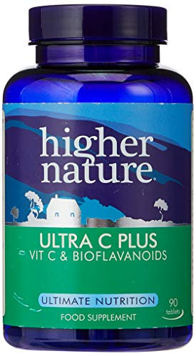 Higher Nature Ultra C Plus 1500mg Pack of 90