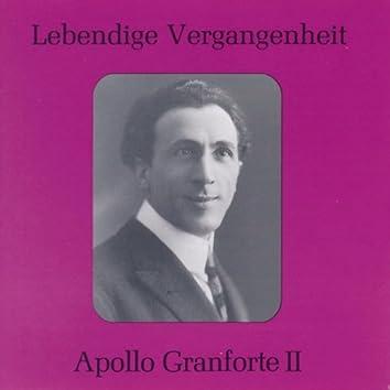Lebendige Vergangenheit - Apollo Granforte (Vol.2)