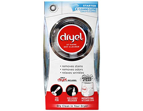 Dryel At-Home Dry Cleaning Starter Kit With Bag, Breeze Clean Scent 1