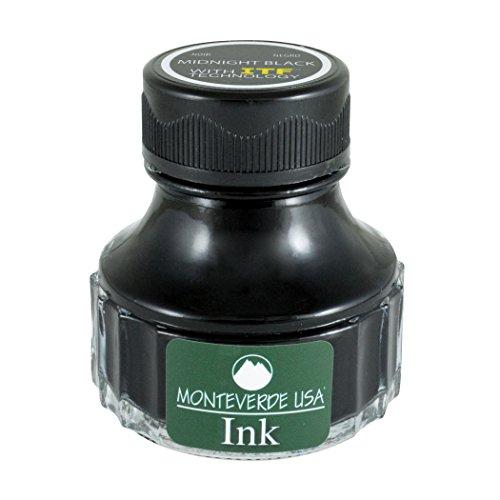 Monteverde g308mb Tinte Flasche, 90 ml, mitternacht schwarz