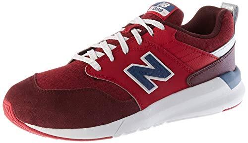 New Balance 009 YS009CB1 Wide, Zapatillas Niños, Red (Neo Crimson CB1), 28