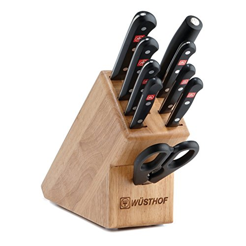 Wusthof Gourmet Ten Piece Knife Block Set