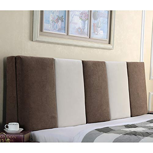 Review Of YZJJ Sofa Bed Large Upholstered Headboard Filled Cushion Bed Backrest Positioning Support ...