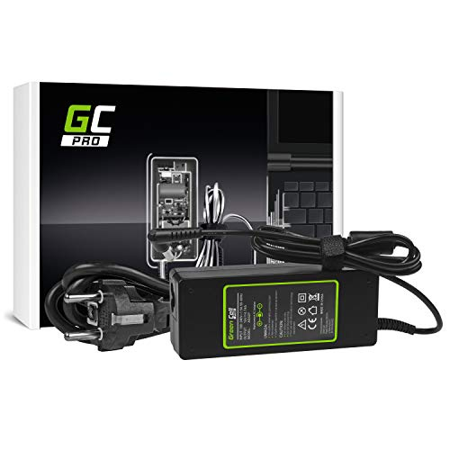 GC Pro Cargador para Portátil Packard Bell EasyNote TJ72-SB-518SP TJ72-SB-524SP TJ73-RB-171FR Ordenador Adaptador de Corriente (19V 4.74A 90W)