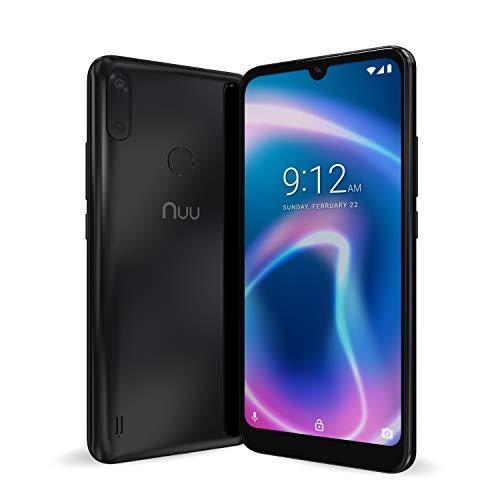 "NUU Mobile X6 Plus Verizon T-Mobile AT&T 4G LTE Unlocked Android 10 Smartphone | 32GB + 3GB RAM | 6.1"" HD+ Display | 13 + 5 MP Camera | 3120 mAh Battery"