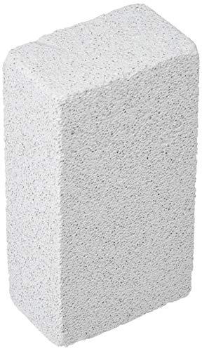 Une 'domo Pv-bbq-0238 Point-comma Nettoyant pour la grille 15 x 8 x 5 cm (par 12 pcs.), Acier inoxydable, Blanc cassé