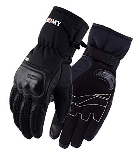Invierno Caliente Guantes De Motociclismo Impermeable Y A Prueba De Viento Pantalla Táctil Luva Motociclista Luvas Moto-A37-L