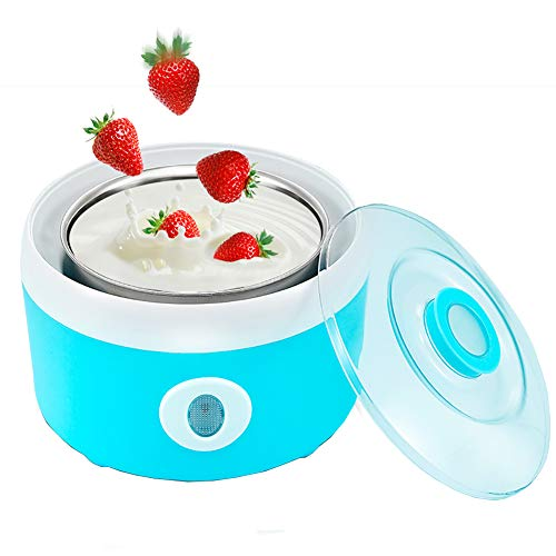 Best Review Of Yogurt Maker Frozen Yogurt Machine, Automatic Digital Yogurt Maker With 1L capacity â...