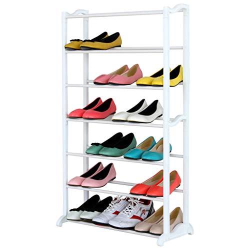 LHY- Eenvoudige multi-layer schoenenrek Household economische slaapzaal stofvrije opslag schoenenkast Kleine schoenen plank Winkel