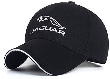 Sundis tech Logo Embroidery Adjustable Baseball Cap Men and Women Cap Travel Cap Racing Cap for J-a-g-u-a-r Black