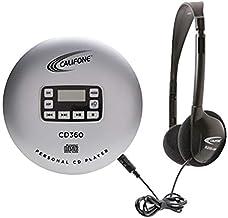 Califone CD360 Personal CD Player, CD360, Silver/Black