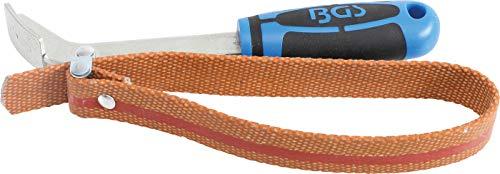 BGS 1054 | Ölfilter-Bandschlüssel | 50 - 130 mm | Ölfilterschlüssel | Ölfilterband