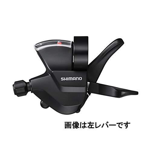 SHIMANO Unisex– Erwachsene SL-M315 Schalthebel, schwarz, 9-Fach