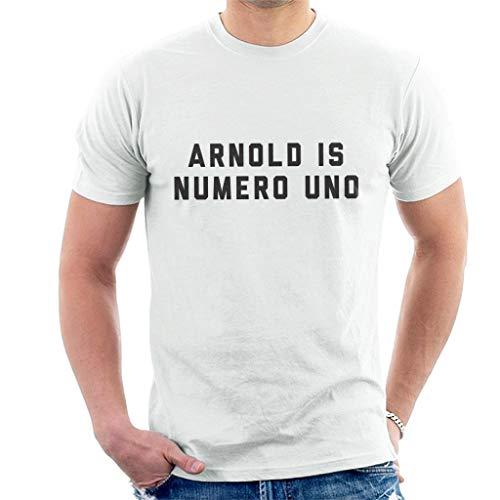 longring Arnold Schwarzenegger Arnold is Numero Uno Men's T-Shirt