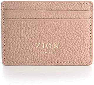 Slim Card Case Wallet Genuine Leather Minimalist Wallet - RFID Blocking Card Holder for Women