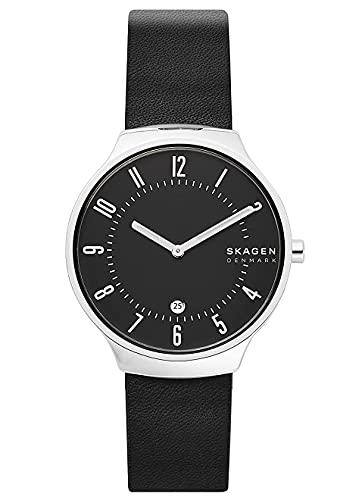 Skagen Reloj Analogico para Hombre de Cuarzo con Correa en Piel SKW6459
