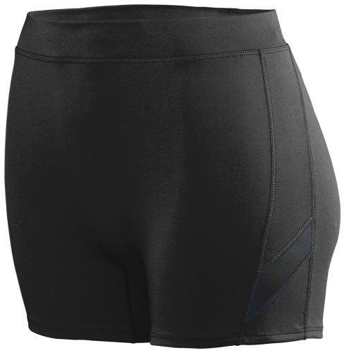 Augusta Sportswear Girls' Stride Short M Black/Black