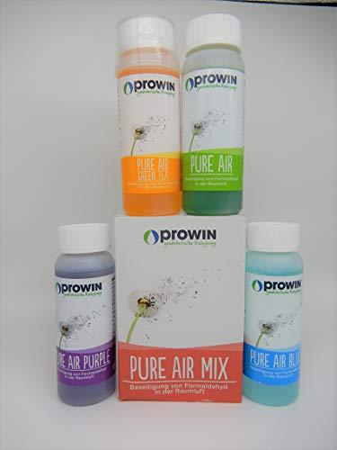 proWIN Pure AIR 4er Set 400 ml je 100 ml