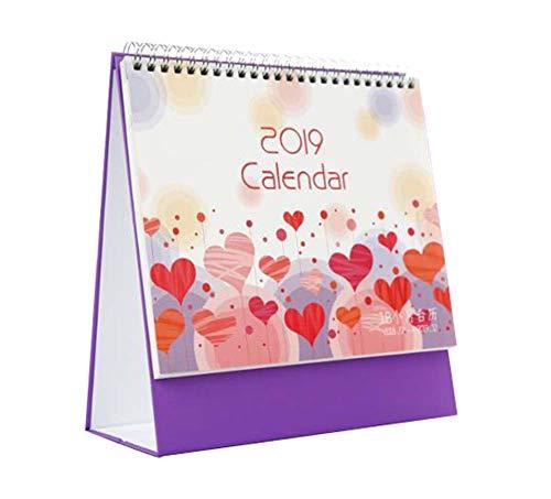 Lovely 2019 Office Calendari Calendario da scrivania per pianificare gli aiutanti, programmare Notebook, I02