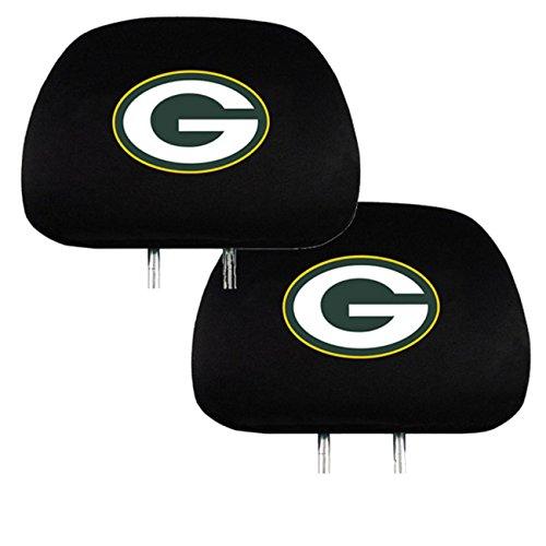 Team ProMark Sports Fan Shop Universal Bucket Seat Headrest Cover (Green Bay)