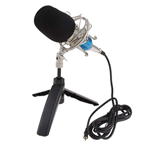 T TOOYFUL Karaoke Mikrofon Kondensator Mikrofon Kits Mikrofon für Audio Vocal Record - Gold