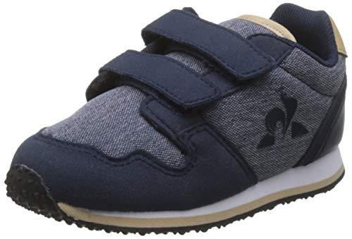Le Coq Sportif Unisex Kinder JAZY INF Denim Sneaker, Blue Dress Blue Dress Blue, 25 EU