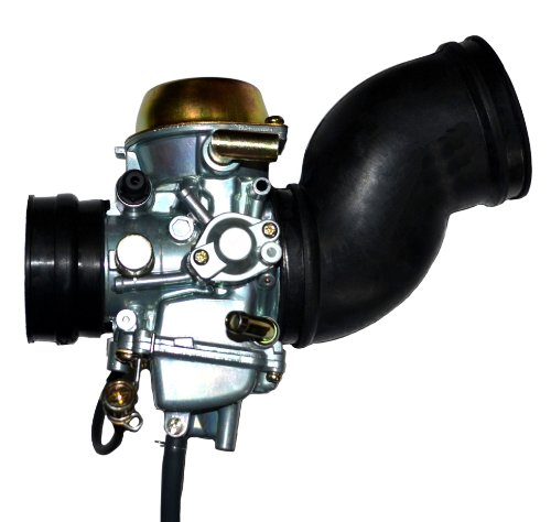 ZOOM ZOOM PARTS Carburetor For Yamaha Grizzly YFM 600 + 2 FREE Intake Manifold Boot Carb 1998 1999 2000 2001