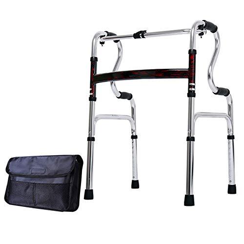 Myyly rolstoel, hanger-kinderwagen, aluminiumlegering, stabiel, voor honden, revalidatie, walkerlicht, frame voor ouderen, in hoogte verstelbaar, opvouwbaar