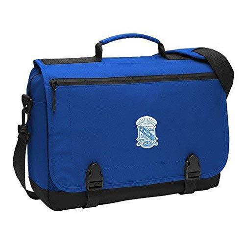 Phi Beta Sigma Briefcase Blue