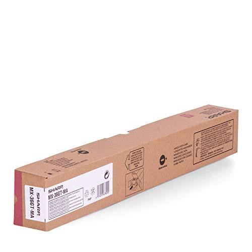 Sharp MX36GTMA Cartucho 15000páginas Magenta tóner y cartucho láser - Tóner para impresoras láser (Cartucho, Magenta, Laser, Sharp MX-2610N/3110N, Negro)