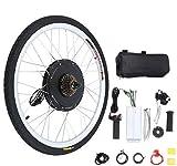Yonntech 48V 1000W Electric Bicycle Cycle E Bike 26' Rear Wheel Ebike Hub Motor Conversion Kit Hub Motor Wheel