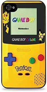 Pikachu Gameboy Apple iPhone 5 / 5S Silicone Case - Black 556