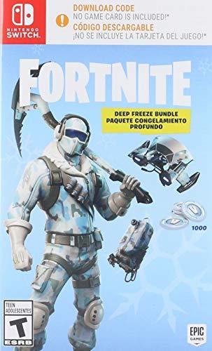 Fortnite: Deep Freeze Bundle – Nintendo Switch – Standard Edition – código descargable