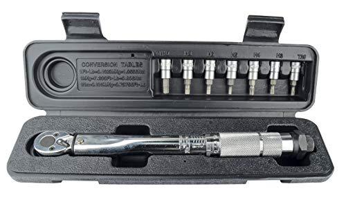 Brüder Mannesmann Werkzeuge Drehmomentschlüsselsatz 8-TLG