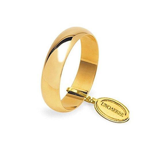 Fede Nuziale Unoaerre Classica da 7 grammi oro giallo 18kt
