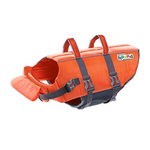 Outward Hound Granby Splash Orange Dog Life Jacket, Large